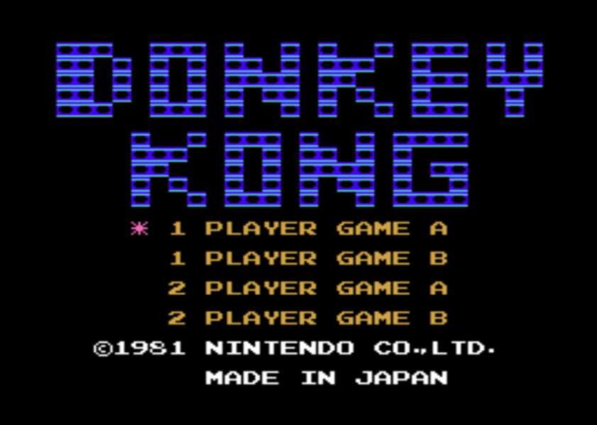 Donkey Kong - Arcade (1981)