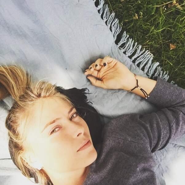 Maria préfère celle du Richmond Park pour sa sieste