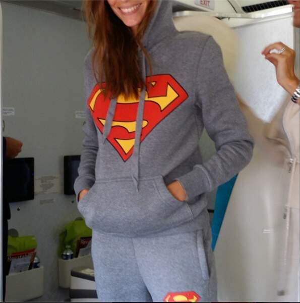 Le jogging Superman, vous aimez ?!
