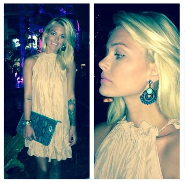Au même moment, Caroline Receveur prend du bon temps à Cancún avec son chéri
