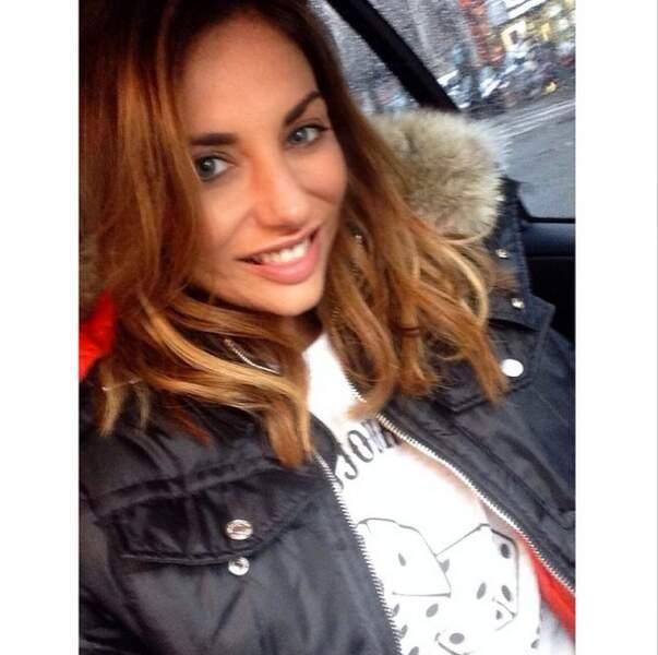 Ariane Brodier, elle, adore sa nouvelle couleur de cheveux