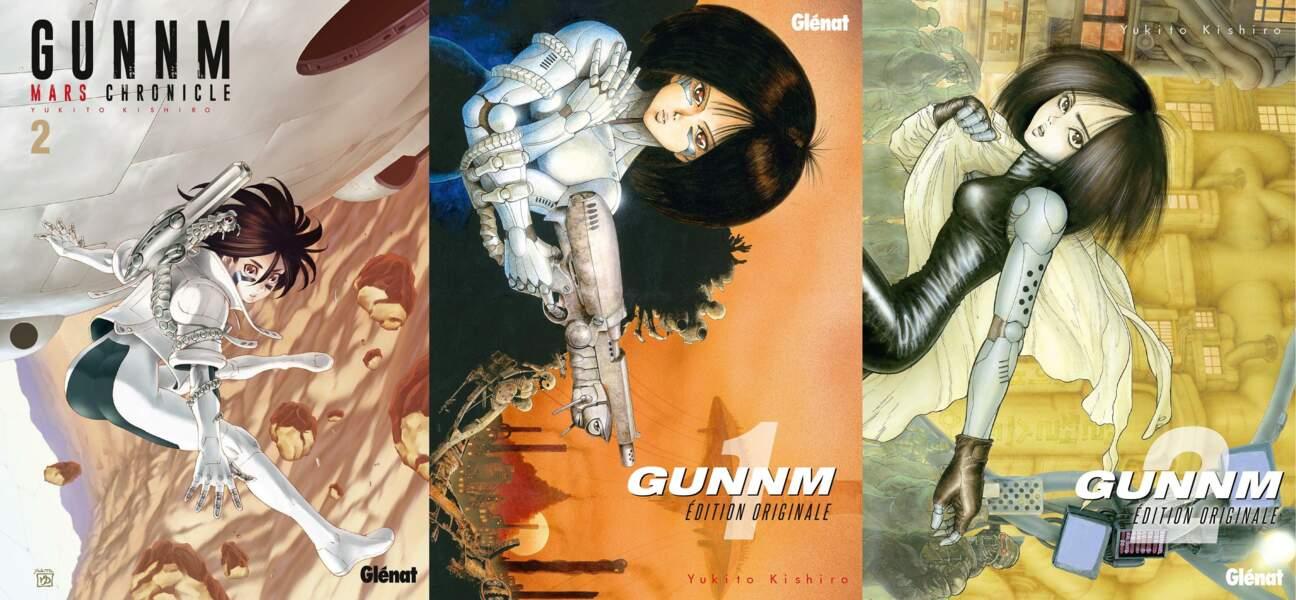 "Le film est une adaptation du manga japonais de Yukito Kishiro ""Gunnm""."