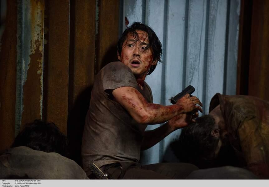 Glenn, qui nous a malheureusement quitté dans la saison 7 (RIP)