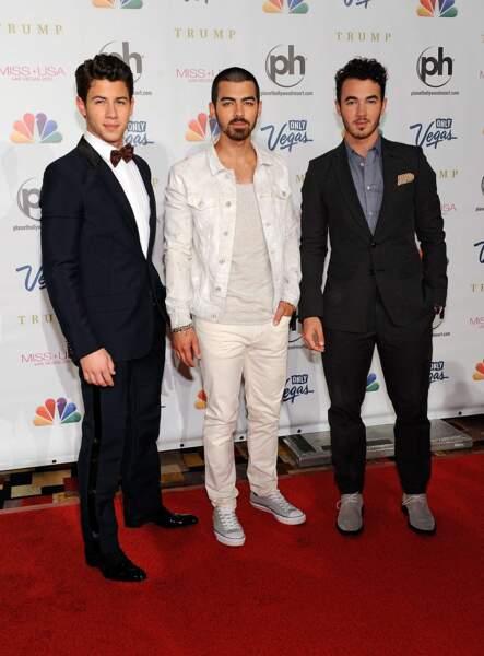 87. Les Jonas Brothers (chanteurs)