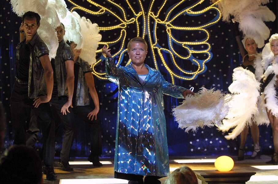 Mimie Mathy a aussi joué les meneuses de revue !