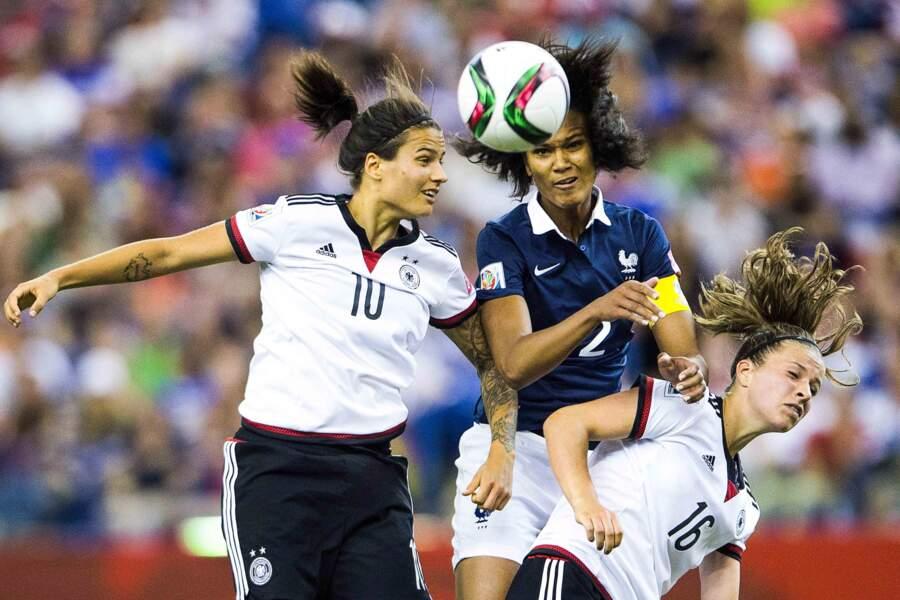26 juin, Les Bleues espéraient beaucoup de ce Mondial. L'Allemagne en avait décidé autrement. Fin du rêve en quart