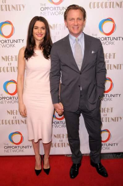 Daniel Craig et Rachel Weisz se sont rencontrés sur le tournage de Dream House en 2011
