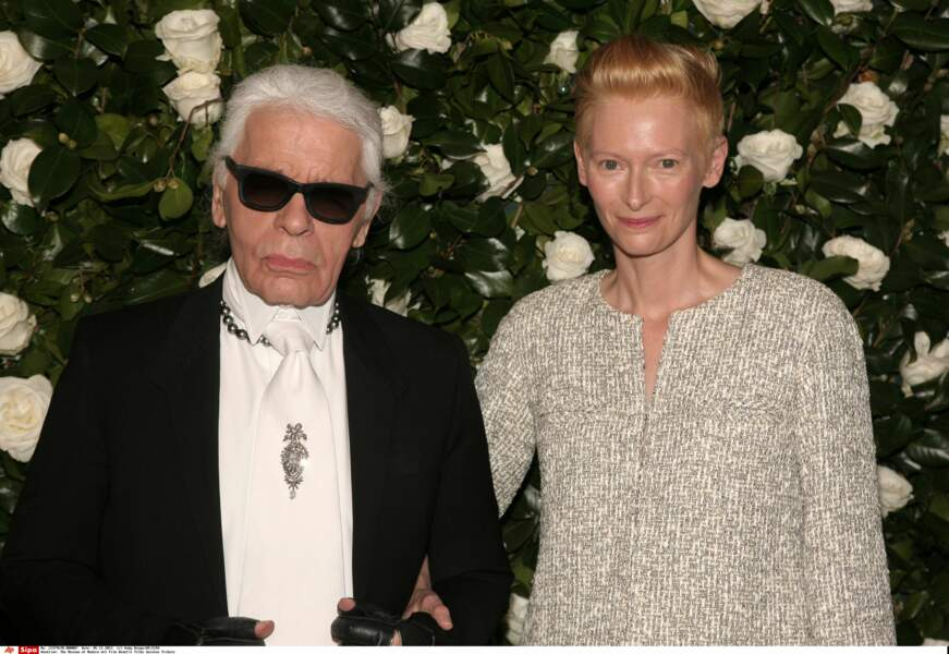 L'actrice Twilda Swinton à New-York en 2013