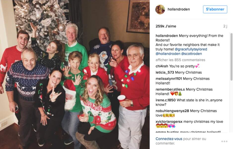 """Concours de """"ugly christmas sweaters"""" chez Holland Roden"""