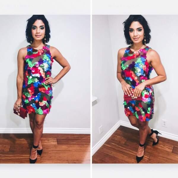 Son interprète, Shakira Barrera, aime aussi les tenues qui ont du peps