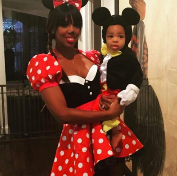 Kelly Rowland en mignonne Minnie Mouse