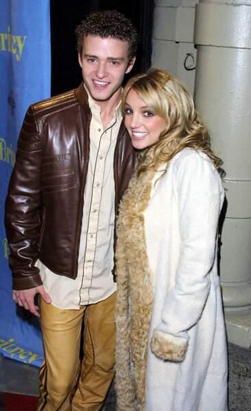 Glamour, tendance... le couple Justin Timberlake et Britney Spears fait rêver les ados entre 1998 et 2002.
