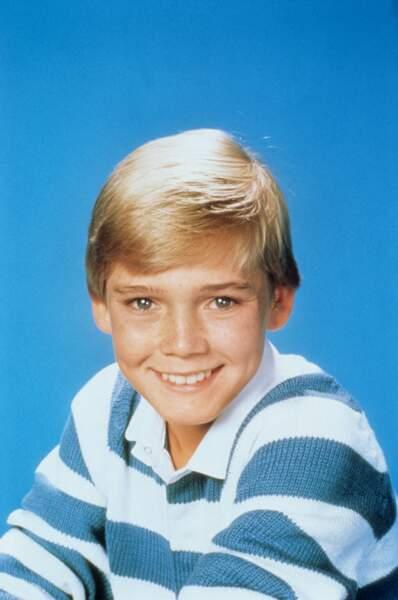 Ricky Schroder dans Ricky ou la belle vie en 1984