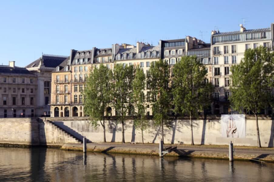 Les Quais de Seine à Paris