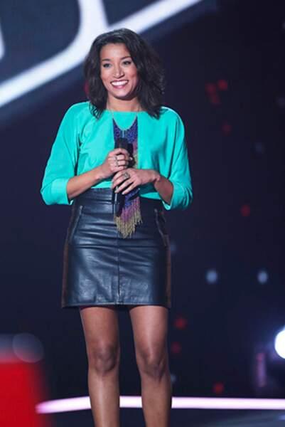Mélissa Maugran, 26 ans, talent de l'équipe de Garou