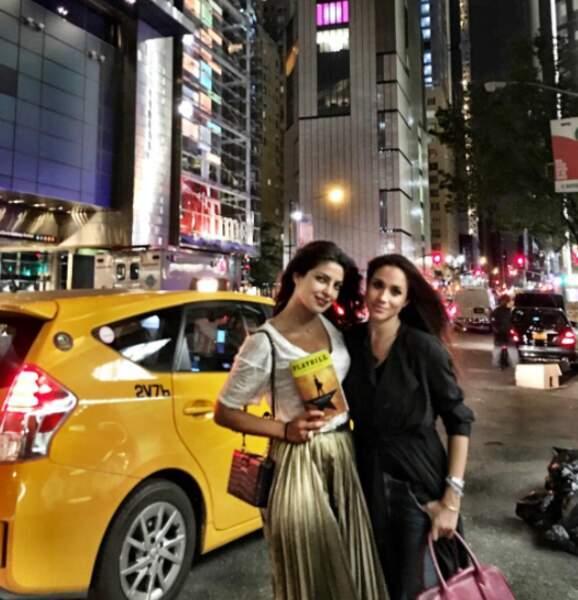 Sans oublier qu'elle est copine avec Priyanka Chopra (actrice dans Quantico, accessoirement Miss Monde 2000)