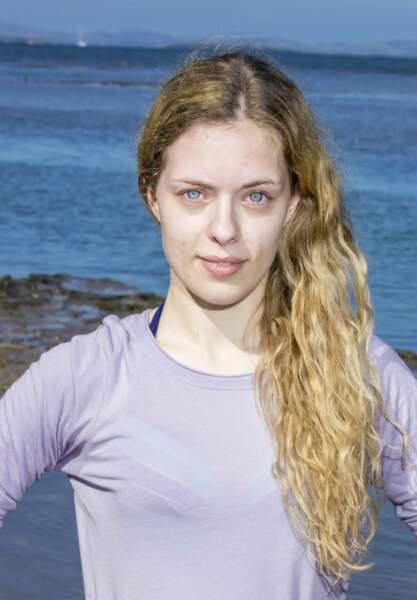 Marine, candidate de Koh-Lanta Fidji