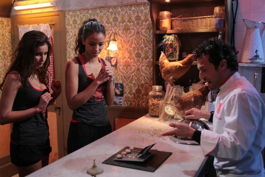 Malika et Flora ont pu goûter à l'étrange cuisine de Willy Rovelli