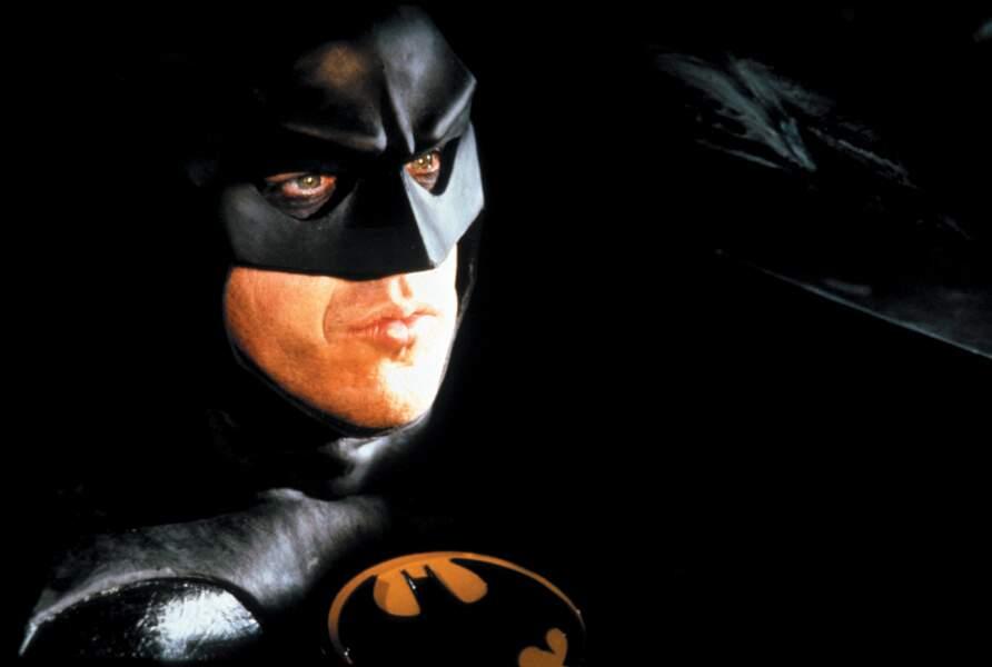 Michael Keaton, le premier Batman sur grand écran (1989). Pas loin d'être le meilleur