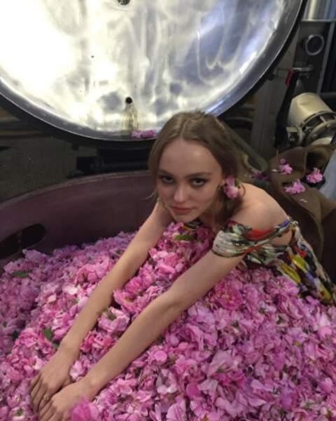 Être égérie c'est avant tout nager dans un bain de rose !