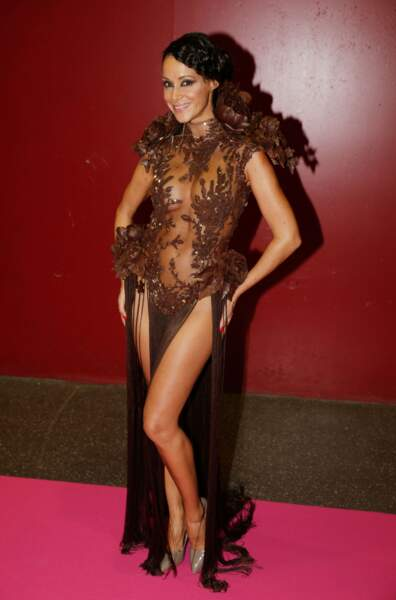 Karine Lima toujours élégante même backstage.
