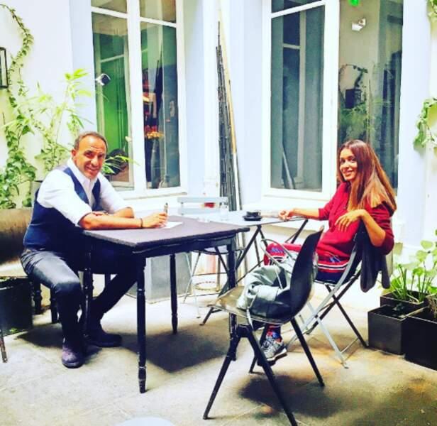 Nikos a interviewé Jenifer pour 50 Minutes Inside. Et ça avait l'air très détendu.