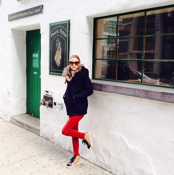 Depuis, elle joue les blogueuses mode à travers le monde. Elle a un mari craquant.