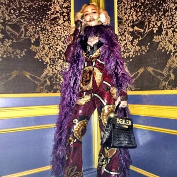 Et celle de Madonna. Plus chic, tu meurs.