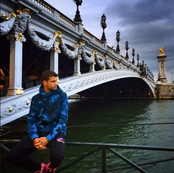 Malgré sa défaite, Grigor Dimitrov visite aussi Paris