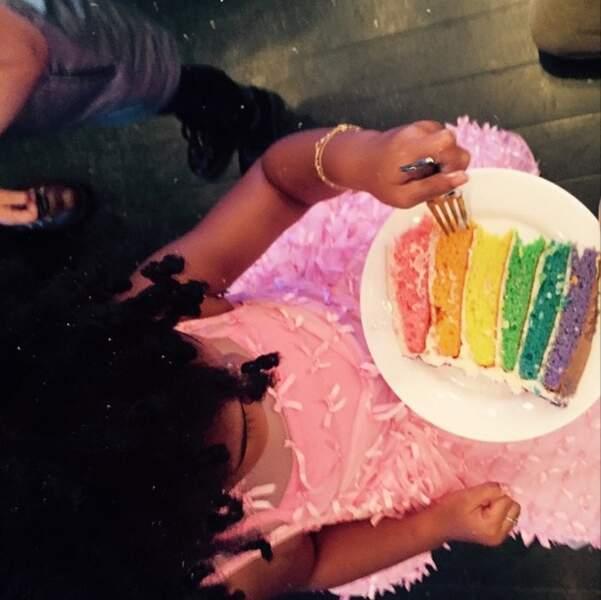 ... Beyoncé a fêté les 3 ans de son adorable Blue Ivy !