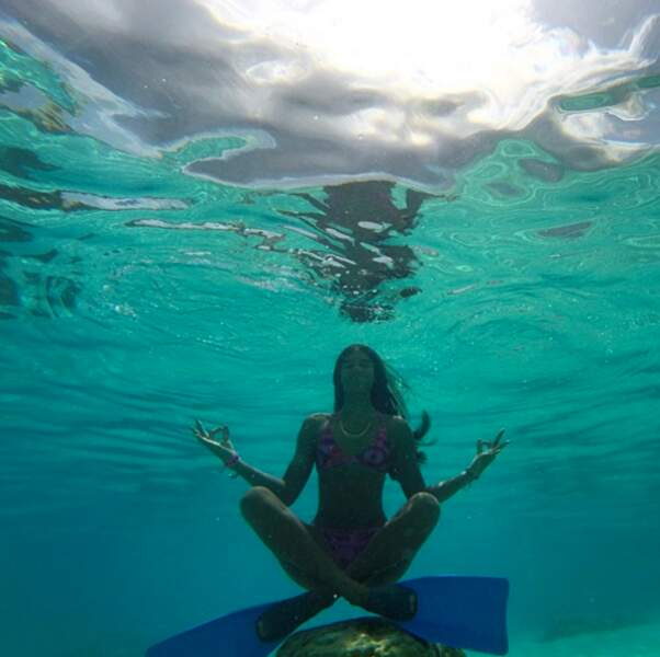 La méditation sous l'eau, un bon moyen de se relaxer ?