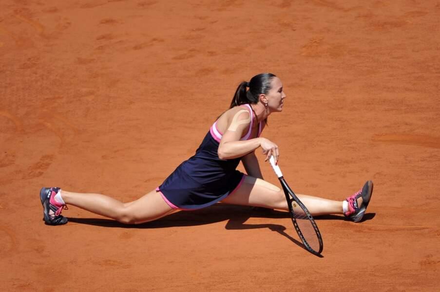 Jelena Jankovic s'est-elle trompée de sport ? La gym, c'est pas à Roland-Garros Jelena !