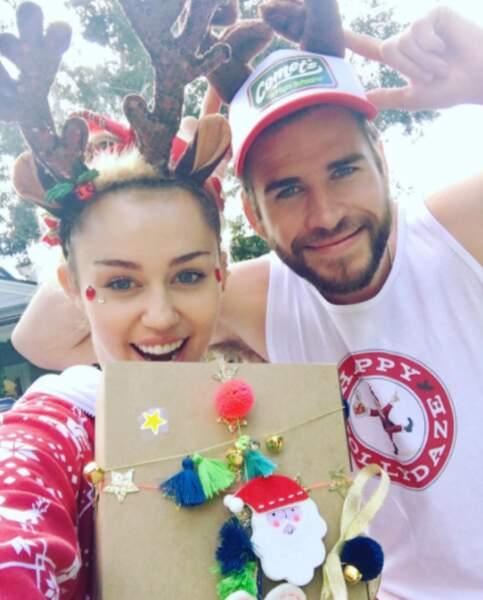 Miley Cyrus et Liam Hemsworth n'ont pas peur du ridicule !