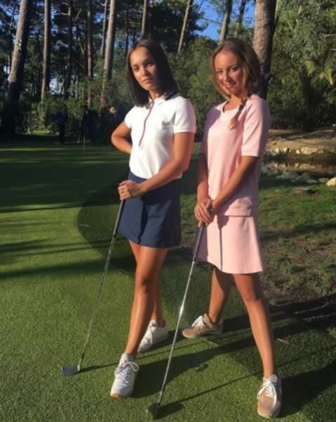 Ambiance golf chic avec la comédienne Matilda Marty
