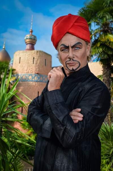 En France c'est moins évident... Franck Dubosc est... Jafar ?