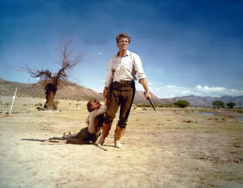 """Changement d'univers avec ce western âpre de John Huston  (""""Le vent de la plaine"""", 1960)"""