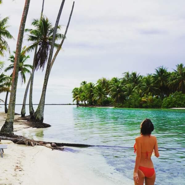 Là, c'était à Tahiti !