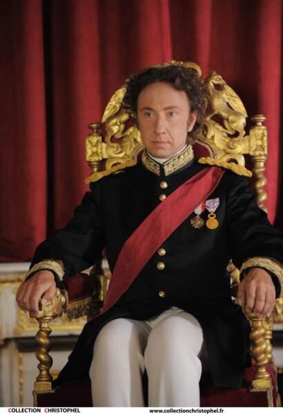 Stéphane Bern s'amuse à interpreter Louis II de Bavière dans Celles qui aimaient Richard Wagner