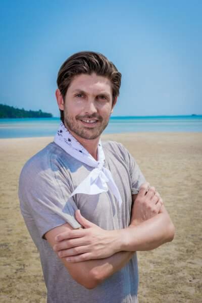 Laurent, candidat de Koh-Lanta : l'île au trésor