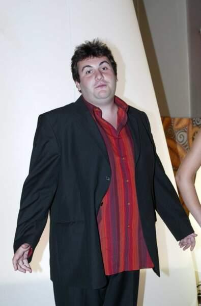 Le comédien de Camping Paradis, Laurent Ournac, en 2005