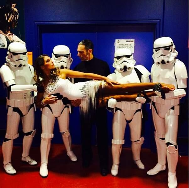 Laury Thilleman a de nouveaux boyfriends : des Stormtroopers de Star Wars