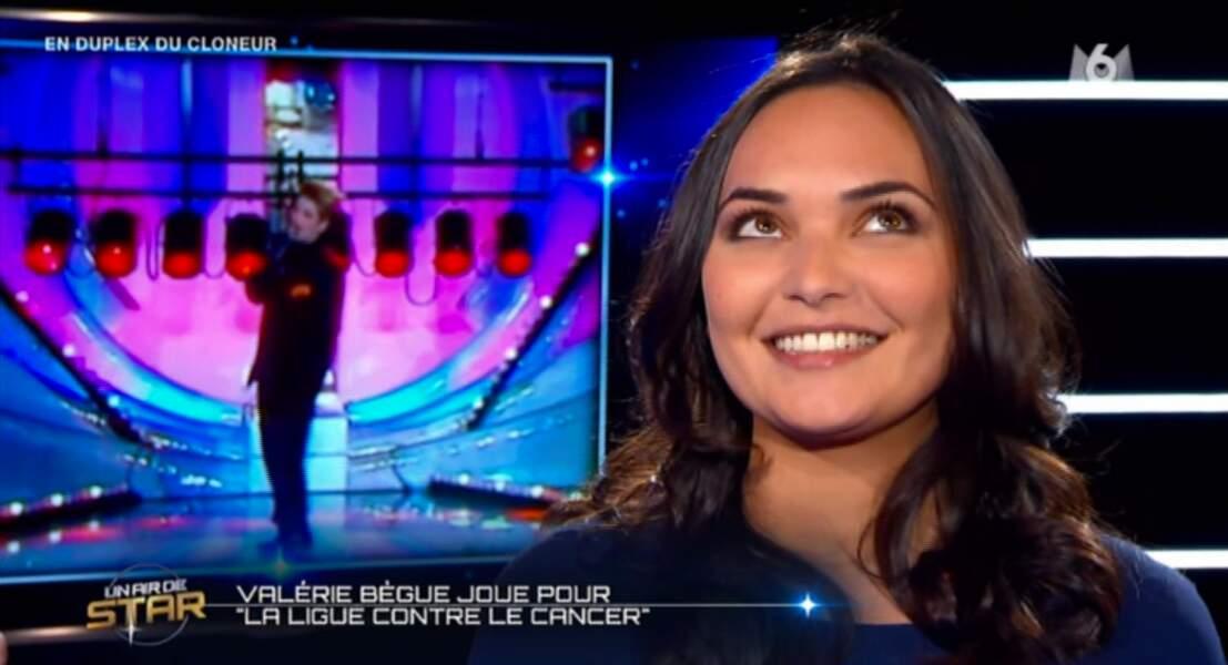 Face à Karine Le Marchand, Valérie Bègue retrouve le sourire. Le traitement d'Angel va porter ses fruits !