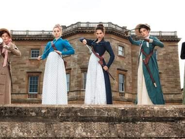 Orgueil et préjugés et zombies : les premières photos sexy et sanglantes du film qui parodie Jane Austen