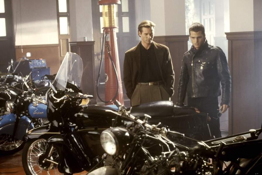 """Val """"Batman"""" Kilmer et Chris """"Robin"""" O'Donnell dans Batman Forever (1995)"""