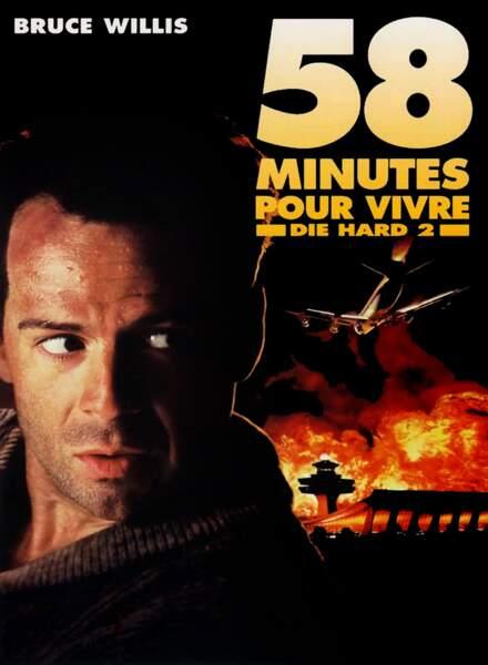 58 minutes pour vivre (1992) : John McClane face à des terroristes qui contrôlent de l'aéroport de Washington.