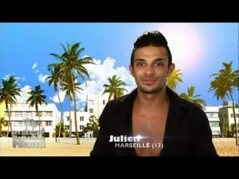 Emblématique star des Marseillais, disons que Julien Tanti s'est...