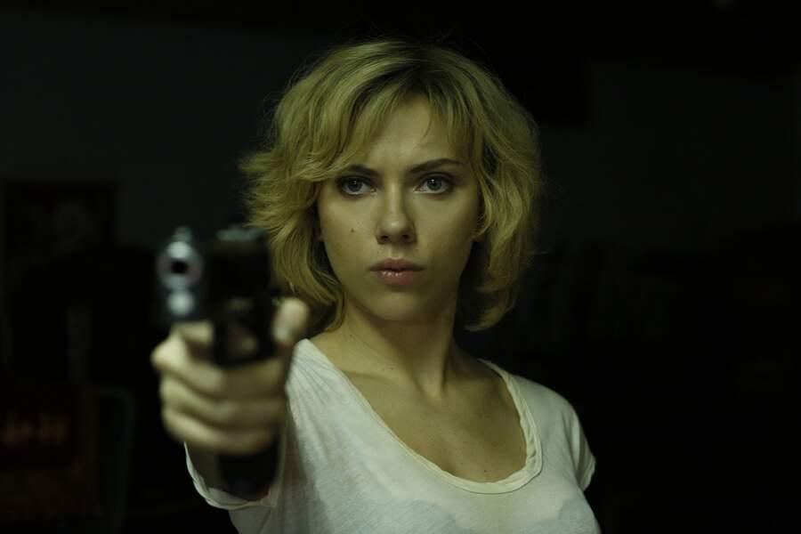 Le 6 août, Scarlett Johansson sera Lucy, la super-héroïne sexy de Luc Besson