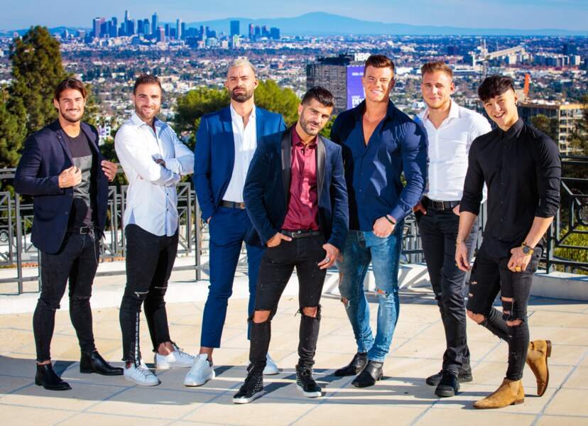 Voici les garçons : Remi, Florian, Vincent, Thomas, Adrien, Jordan et Tristan