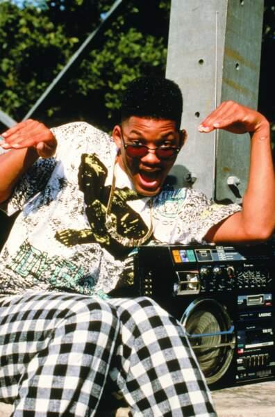 1990. Le grand public découvre le visage de Will Smith dans la sitcom d'NBC Le prince de Bel-Air