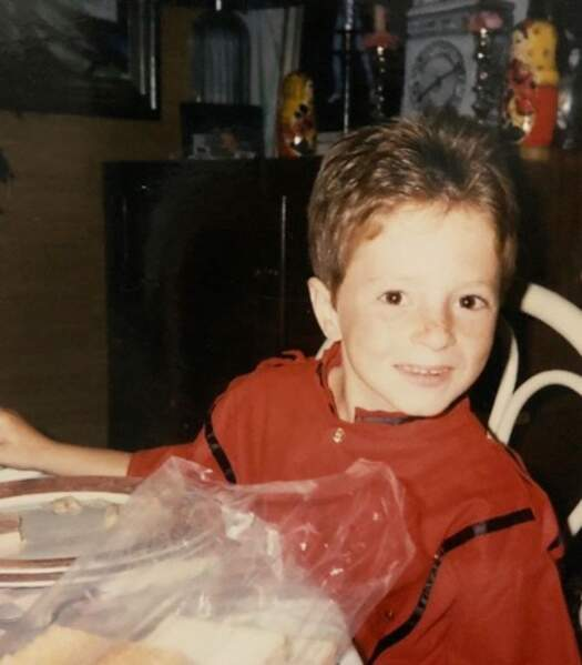 Et le jeune Jean Imbert connaissait déjà THE place to be : à table !